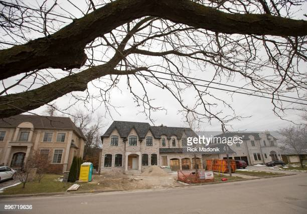 Homes in the neighbourhood near the Old Colony property owned by Barry and Honey Sherman