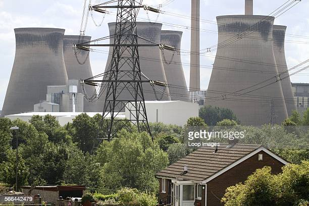 Homes in the shadow of the Ferrybridge power station