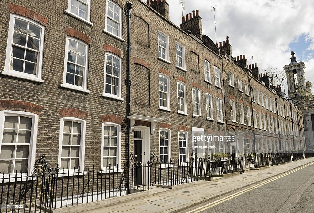 Homes in Westminster, London : Stock Photo