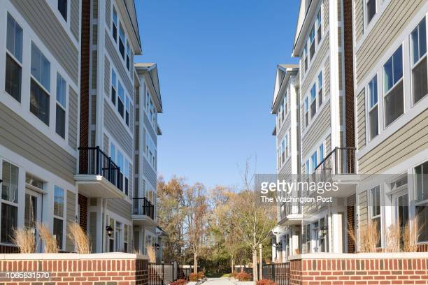 Homes with a Courtyard at Annapolis Townes on November 20 2018 in Annapolis Maryland