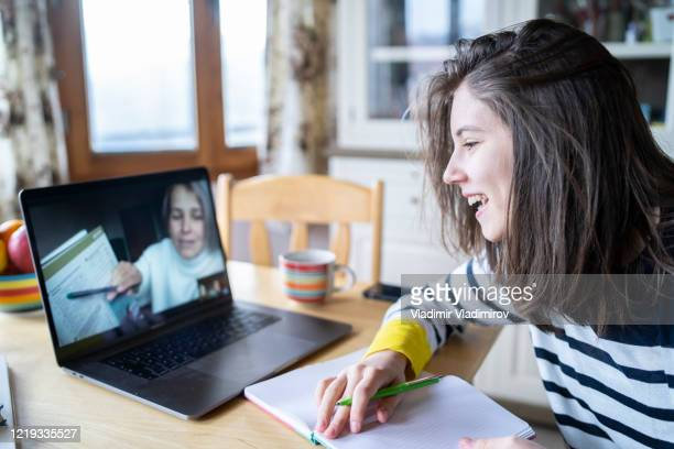 homeschooling - tutor stock pictures, royalty-free photos & images