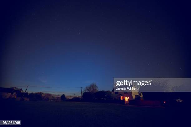 homestead under the stars - night stock pictures, royalty-free photos & images