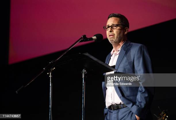 Homeward LA Founder Jason Lesner attends a celebrity live reading to benefit homeless charities hosted by The Midnight Mission and Homeward LA at the...