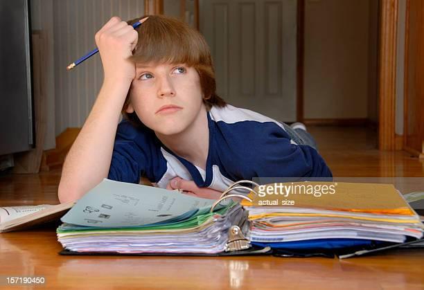 Homework on the Floor