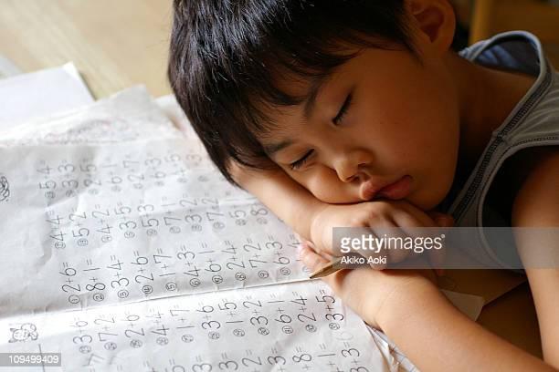 homework = sleepy