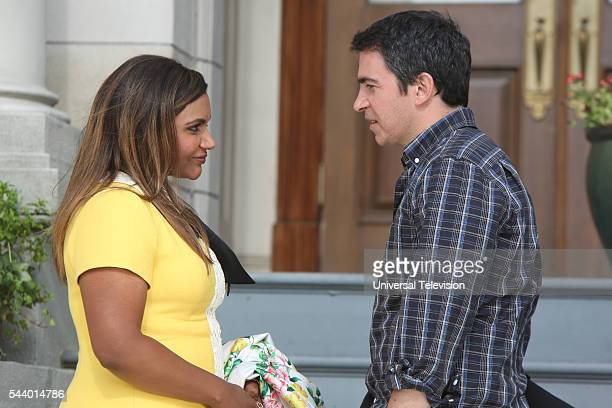 PROJECT 'Homewrecker' Episode 426 Pictured Mindy Kaling as Mindy Lahiri Chris Messina as Danny Castellano
