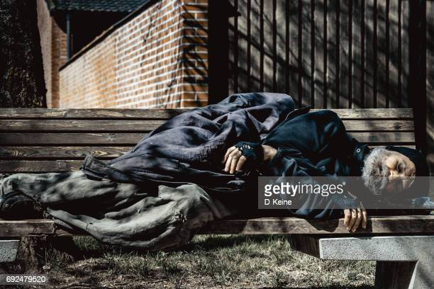 homlessness - homeless person stock pictures, royalty-free photos & images