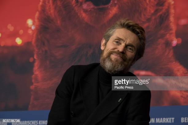 Hommage press conference with Willem Dafoe winner of an honorary Golden Bear at the Berlinale in 2018