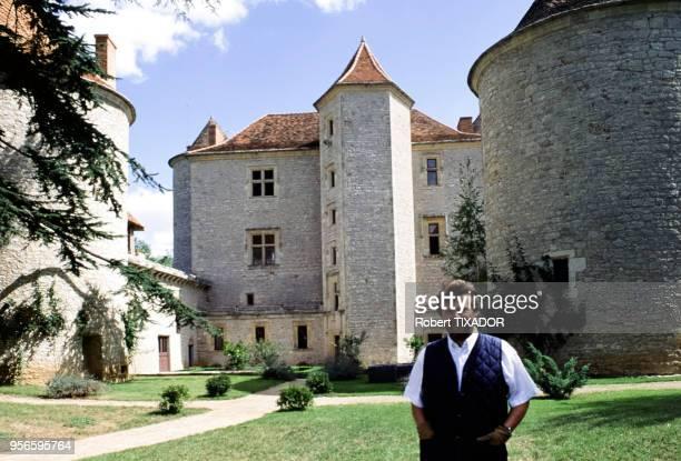 L'homme d'affaires français AlainDominique Perrin au château Lagrézette à Caillac dans le Lot France