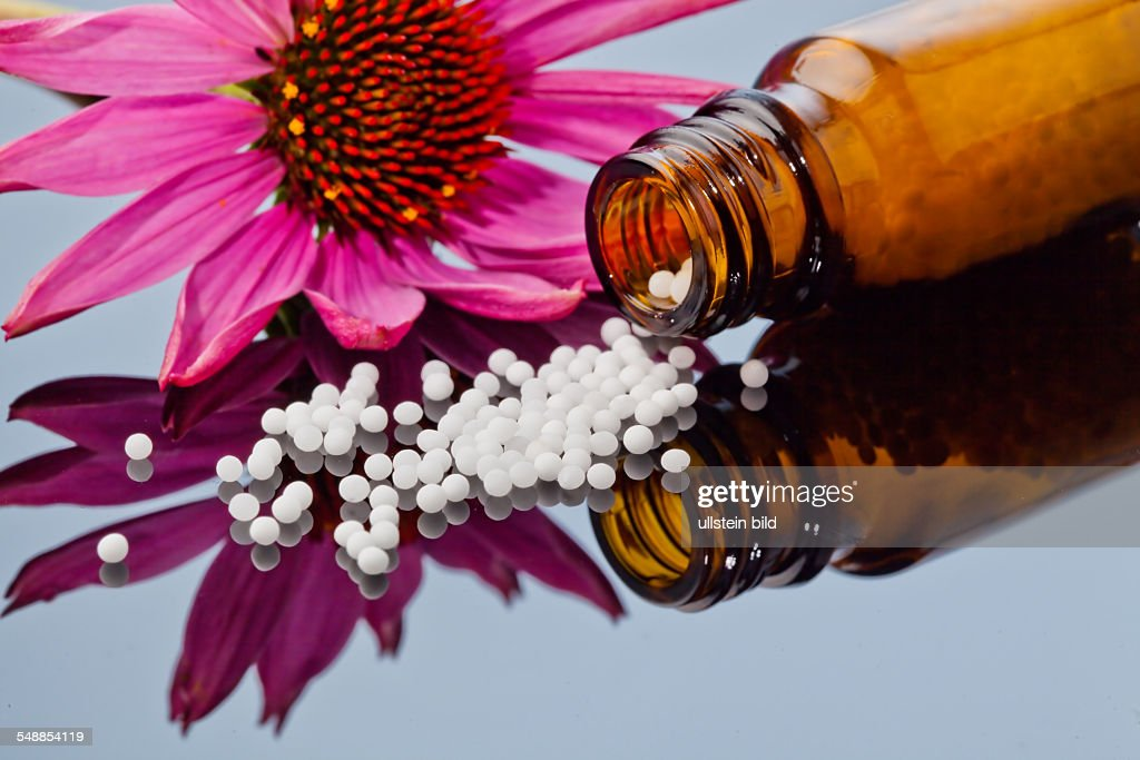 homoeopathic medicine, globules News Photo - Getty Images
