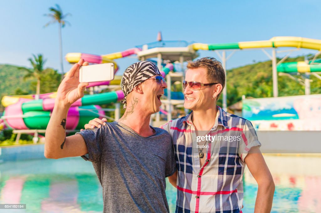 Homosexual summer enjoyment