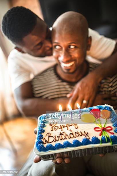Peachy Gay Birthday Cake Stock Pictures Royalty Free Photos Images Funny Birthday Cards Online Overcheapnameinfo