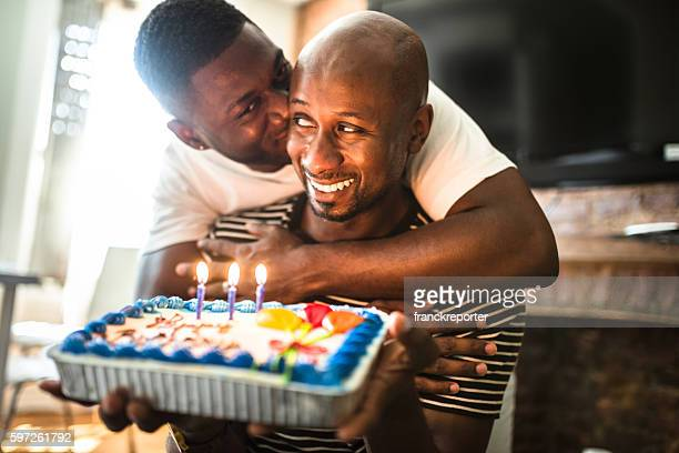 Swell Gay Birthday Cake Stock Pictures Royalty Free Photos Images Funny Birthday Cards Online Overcheapnameinfo