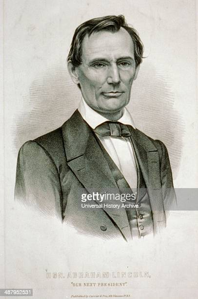 our next president by Currier Ives c1860