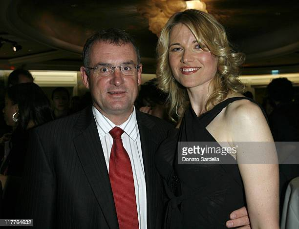 Hon. Trevor Mallard and Lucy Lawless during 6th Annual Oscar Celebration of New Zealand Filmmaking at The Beverly Hills Hotel in Beverly Hills,...