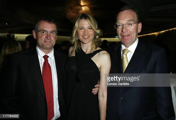 Hon. Trevor Mallard, Lucy Lawless and Roy Ferguson, New Zealand Ambassador
