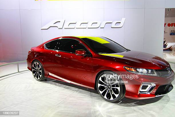 Honda Accord concept car at the 104th Annual Chicago Auto Show at McCormick Place in Chicago Illinois on FEBRUARY 08 2012