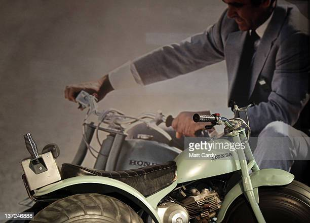 Honda ATC that was used in the 1971 James Bond film Diamonds Are Forever and is currently being displayed at the Bond In Motion exhibition at...