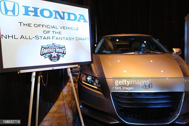 Honda car is seen at the NHL Fan Fair part of 2011 NHL AllStar Weekend at the Raleigh Convention Center on January 28 2011 in Raleigh North Carolina