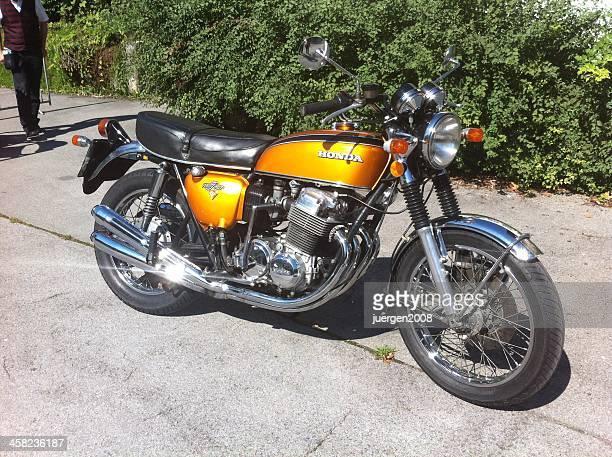 ホンダ cb 750 4 ビンテージバイク - honda ストックフォトと画像