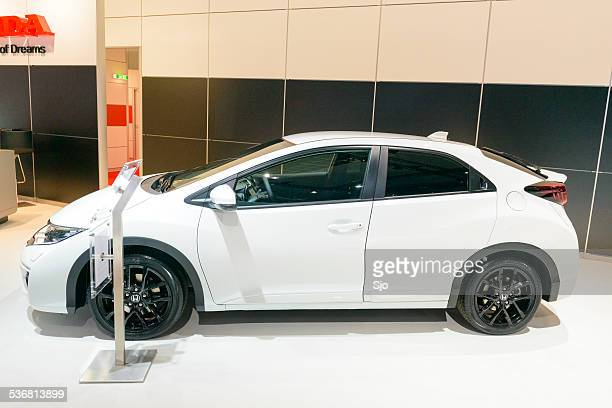 honda civic hatchback car - honda civic stock pictures, royalty-free photos & images