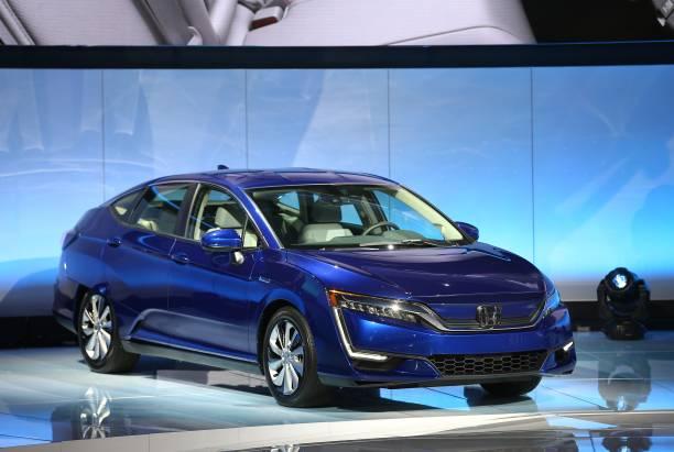 New York International Auto Show Pictures Getty Images - Honda center car show