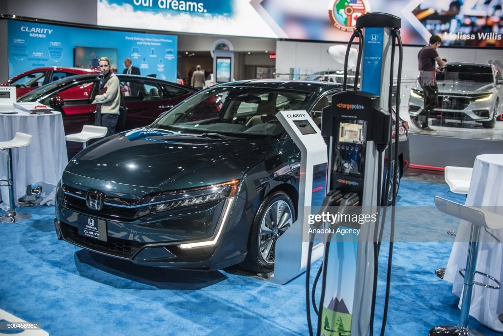 North American International Auto Show Pictures Getty Images - Honda center car show