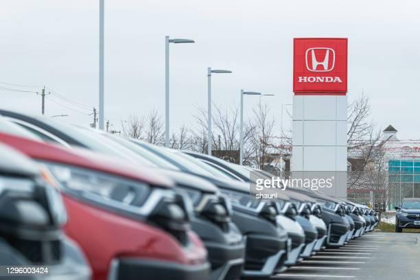 2020ホンダcr-vスポーツ用多目的車 - honda ストックフォトと画像