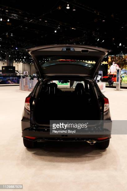 Honda HR-V is on display at the 111th Annual Chicago Auto Show at McCormick Place in Chicago, Illinois on February 7, 2019.