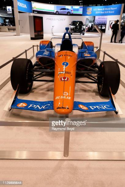 Honda IndyCar Series is on display at the 111th Annual Chicago Auto Show at McCormick Place in Chicago, Illinois on February 7, 2019.