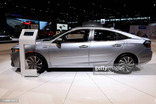 Honda Insight Hybrid is on display at the 111th Annual Chicago Auto Show at McCormick Place in Chicago, Illinois on February 8, 2019.