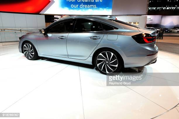 Honda Insight Prototype is on display at the 110th Annual Chicago Auto Show at McCormick Place in Chicago Illinois on February 8 2018