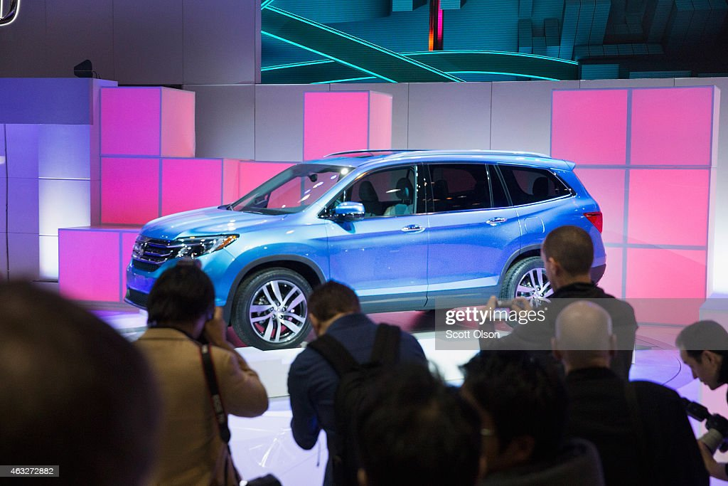 Honda Introduces The 2016 Pilot At Chicago Auto Show On February 12 2015 In