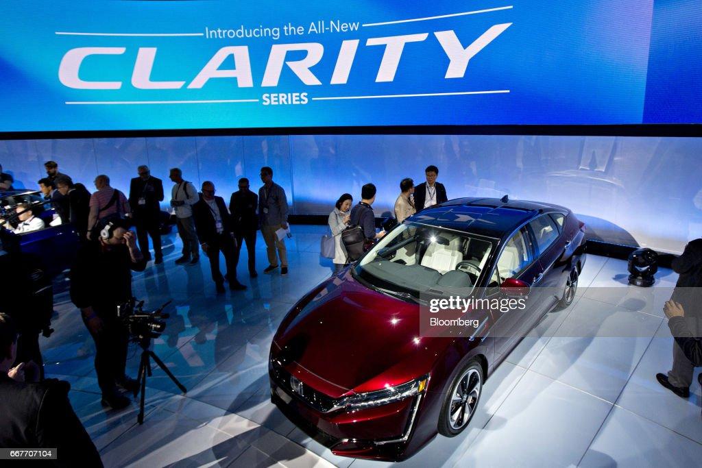Inside The 2017 New York International Auto Show (NYIAS) : News Photo