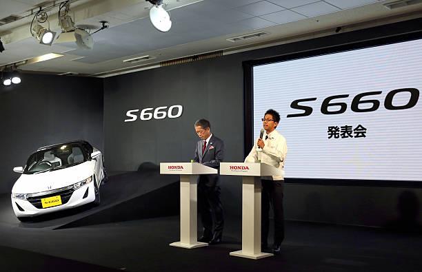 Honda Motor President Takanobu Ito C Straddles A 1800cc