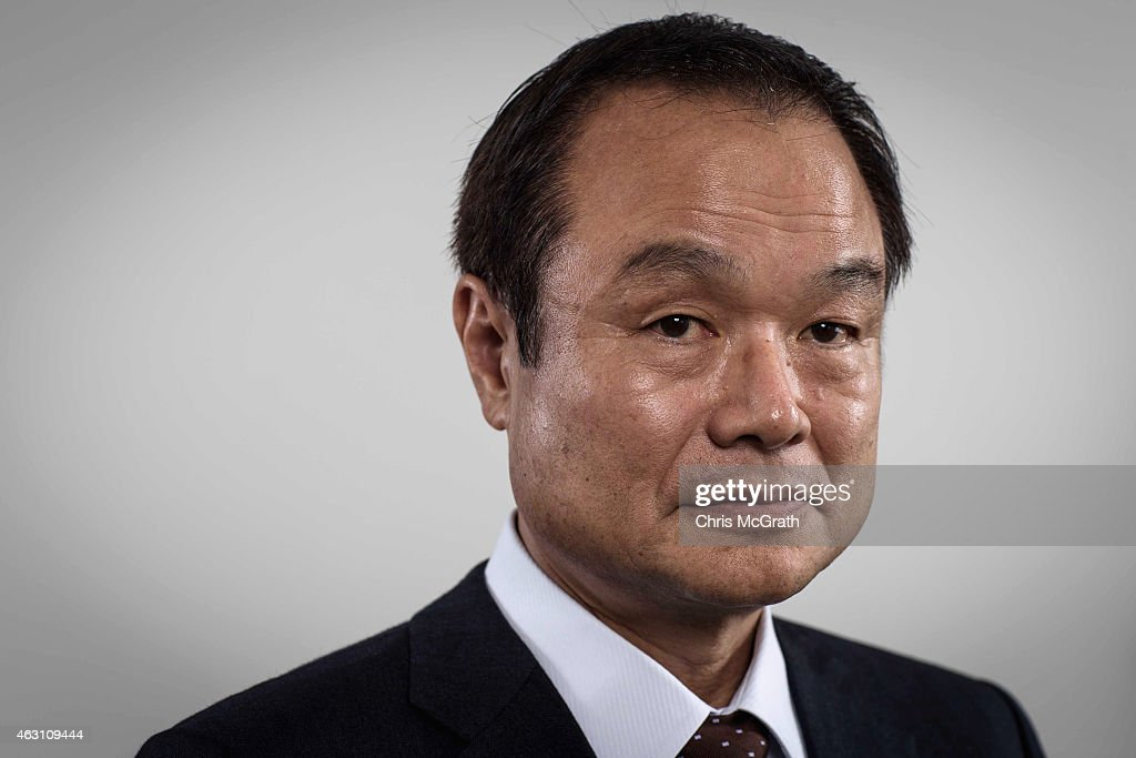 Honda Motor Co.,Ltd. President, Chief Executive Officer and Representative Director Takanobu Ito poses for photographs in a portrait session at the Honda Motor Co. headquarters on February 10, 2015 in Tokyo, Japan. Honda Motor Co., Ltd. held a press conference in the run-up to the Australian Grand Prix of the FIA Formula One World Championship (F1) happening in March 13-15, 2015. McLaren-Honda drivers Fernando Alonso and Jenson Button expressed their enthusiasm for the first race.