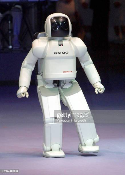 Honda Motor's robot ASIMO, the new two-legged humanoid robot, has the ability to walk, dance, shake hands and answer simple questions. It was...