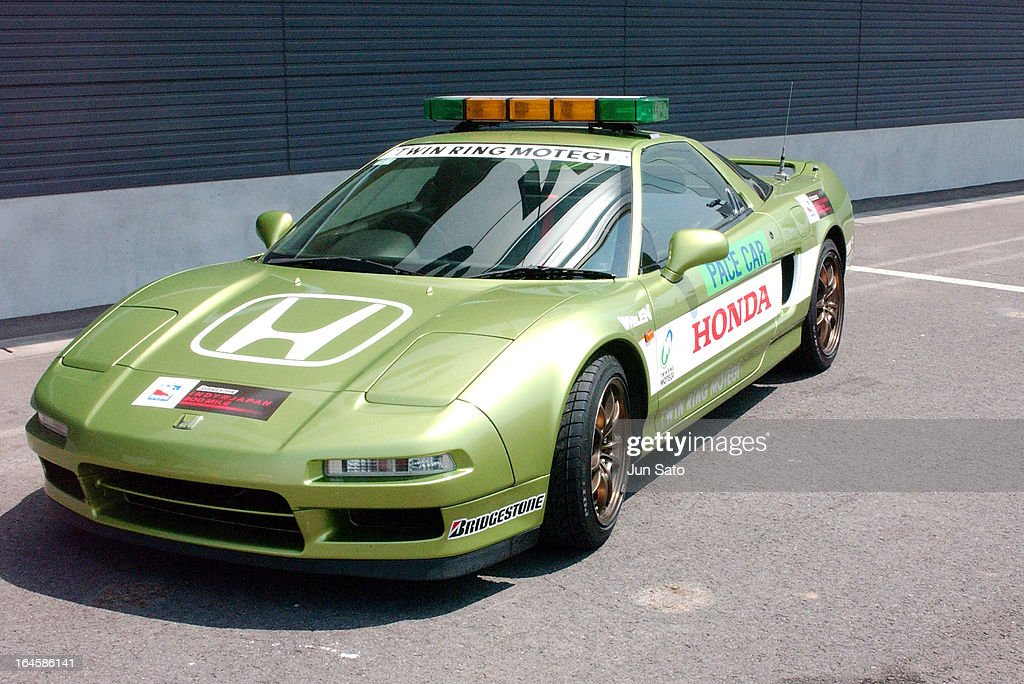 Honda Nsx Pace Car During Indycar 2004 Bridgestone Indy