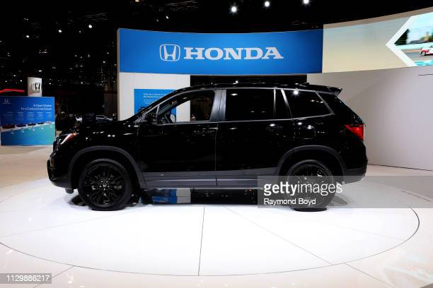 Honda Passport is on display at the 111th Annual Chicago Auto Show at McCormick Place in Chicago, Illinois on February 7, 2019.