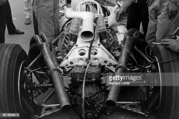 Honda RA302 Grand Prix of France RouenLesEssarts 07 July 1968 Honda RA302E 30 V8