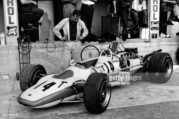 Honda RA302 Grand Prix of France RouenLesEssarts 07 July 1968
