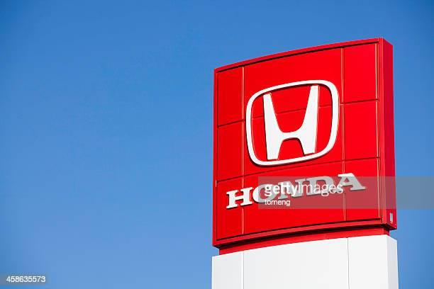 ホンダ車ディーラーでサイン - honda ストックフォトと画像