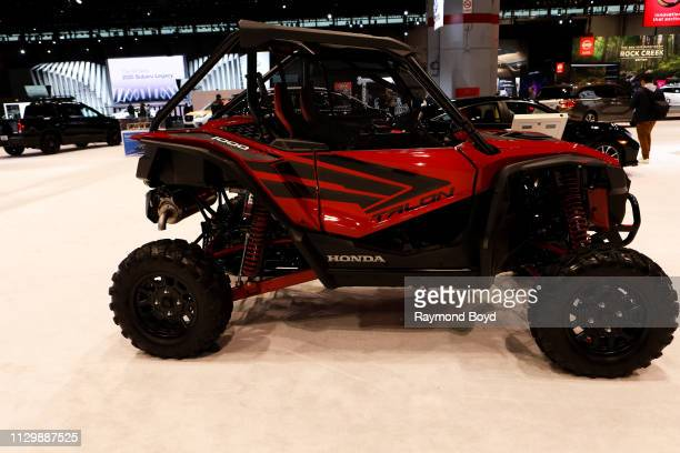 Honda Talon 1000R is on display at the 111th Annual Chicago Auto Show at McCormick Place in Chicago, Illinois on February 7, 2019.