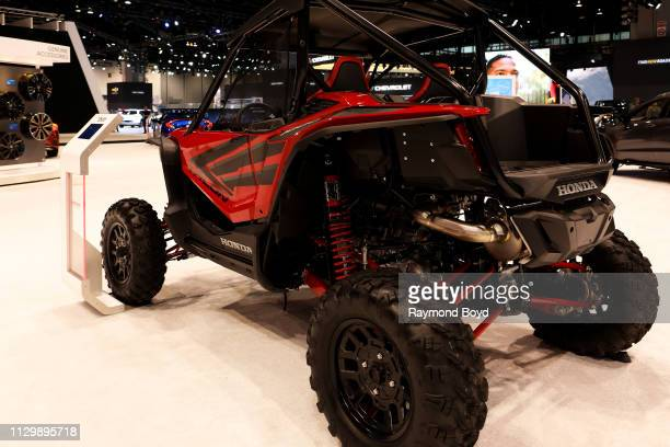 Honda Talon 1000R is on display at the 111th Annual Chicago Auto Show at McCormick Place in Chicago Illinois on February 7 2019