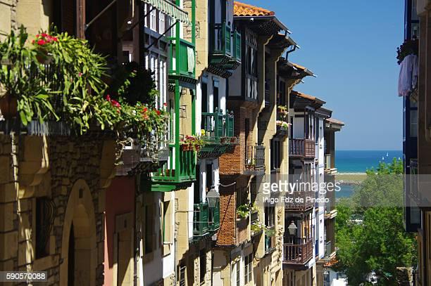 Hondarribia and the sea- Guipuzkoa- Spain