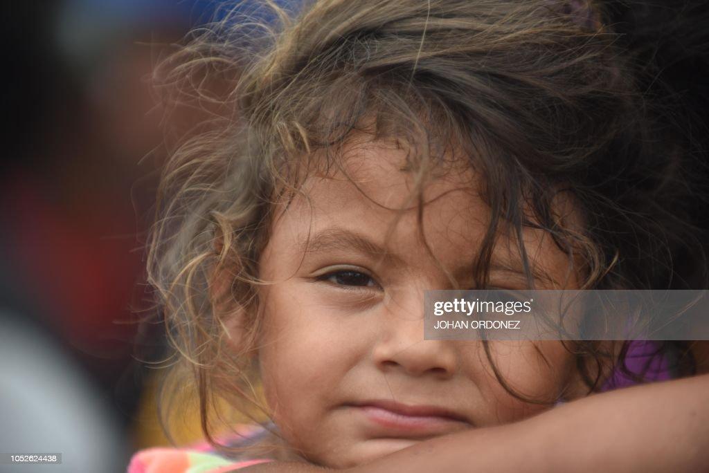 GUATEMALA-MEXICO-HONDURAS-US-MIGRATION : News Photo