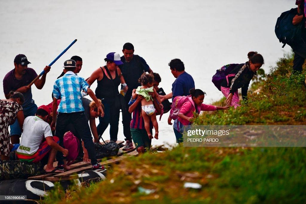 Honduran Migrant Caravan Clashes with Guatemalan