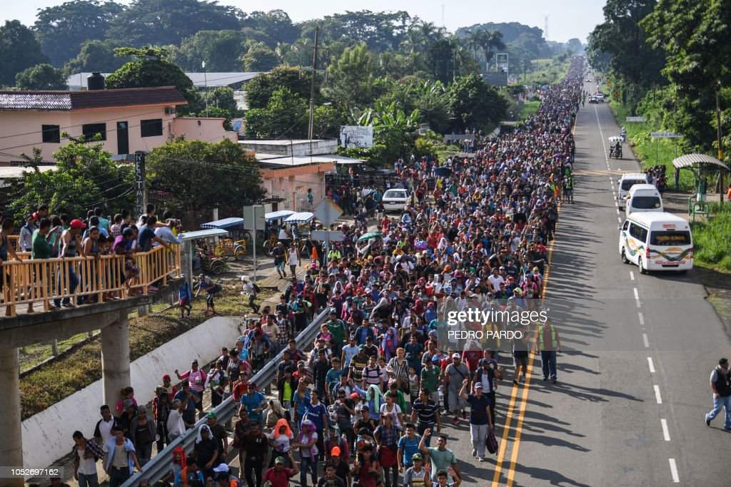 MEXICO-HONDURAS-US-MIGRATION : News Photo