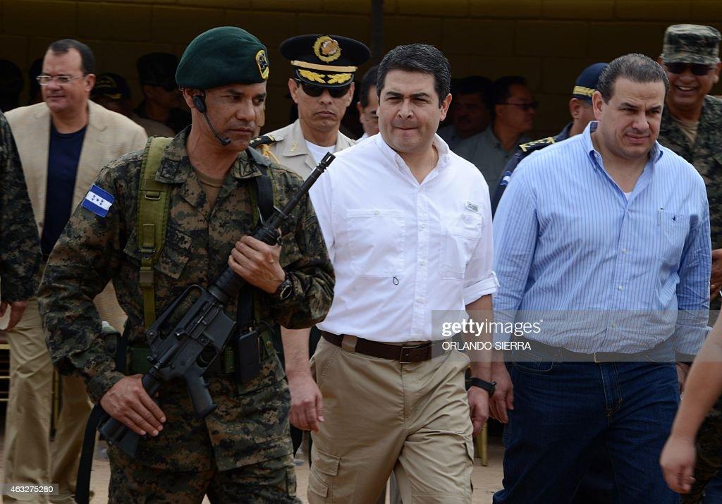 HONDURAS-PRISON-INAUGURATION : News Photo