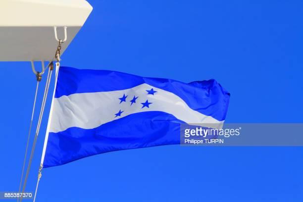 honduras flag - honduras stock pictures, royalty-free photos & images